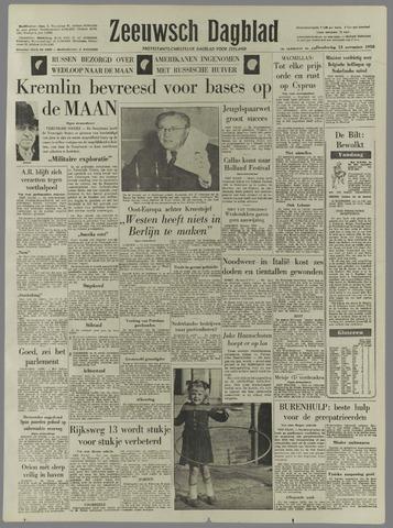 Zeeuwsch Dagblad 1958-11-13