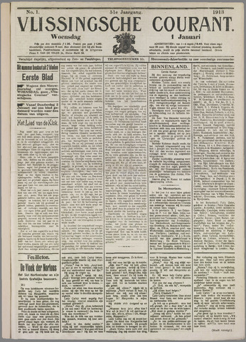 Vlissingse Courant 1913
