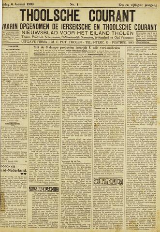Ierseksche en Thoolsche Courant 1939