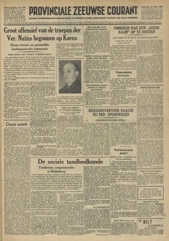 Provinciale Zeeuwse Courant 1950-09-16