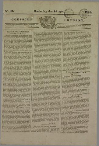 Goessche Courant 1842-04-14
