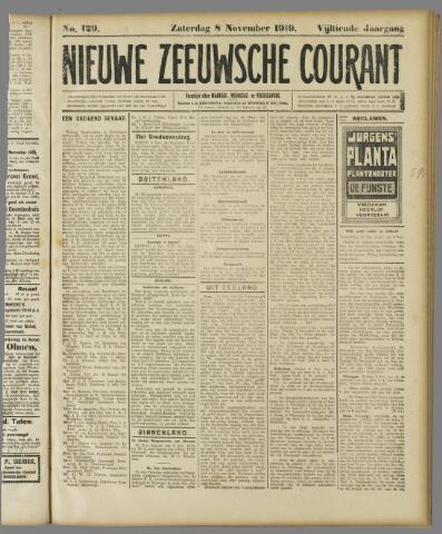Nieuwe Zeeuwsche Courant 1919-11-08