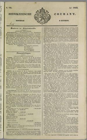 Zierikzeesche Courant 1844-10-08