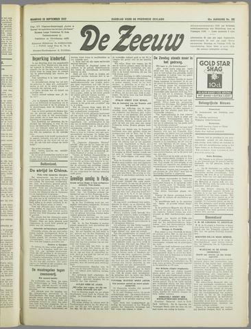 De Zeeuw. Christelijk-historisch nieuwsblad voor Zeeland 1937-09-13