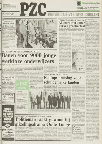 Provinciale Zeeuwse Courant 1984-06-09