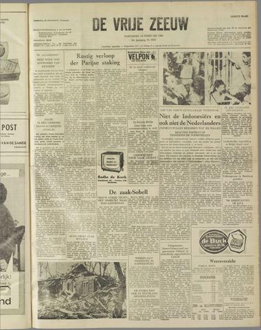 de Vrije Zeeuw 1962-02-14