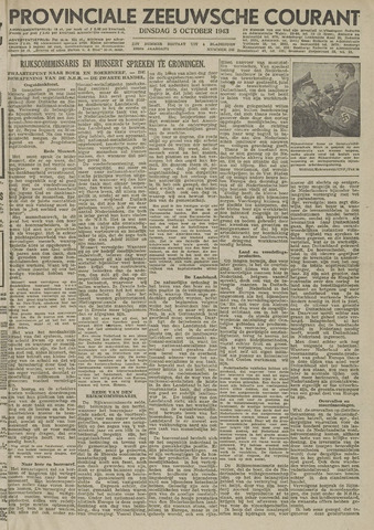 Provinciale Zeeuwse Courant 1943-10-05