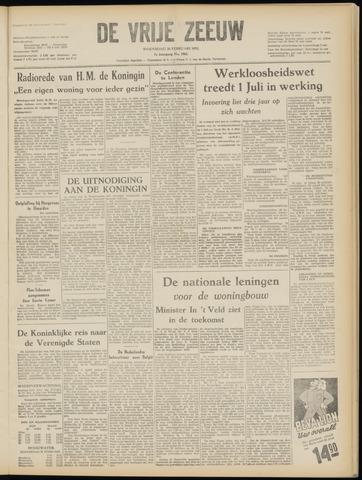 de Vrije Zeeuw 1952-02-20