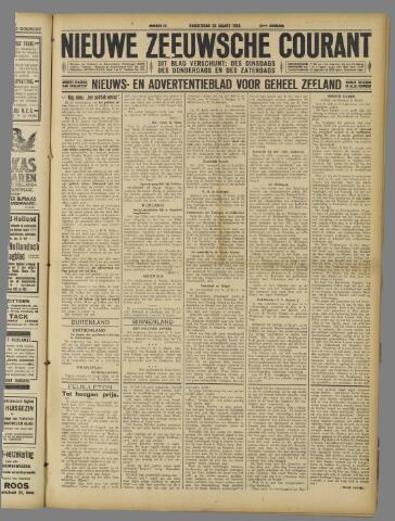 Nieuwe Zeeuwsche Courant 1925-03-26