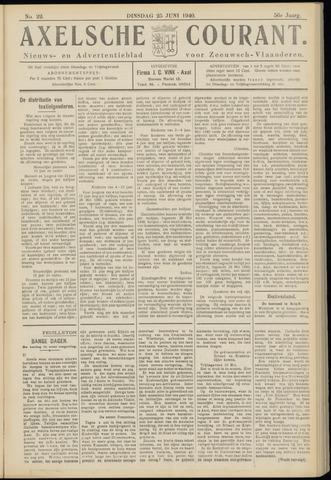 Axelsche Courant 1940-06-25