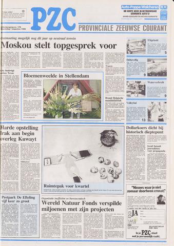 Provinciale Zeeuwse Courant 1990-08-01
