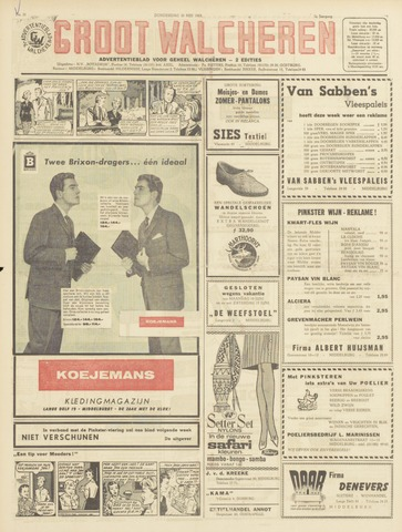 Groot Walcheren 1963-05-30
