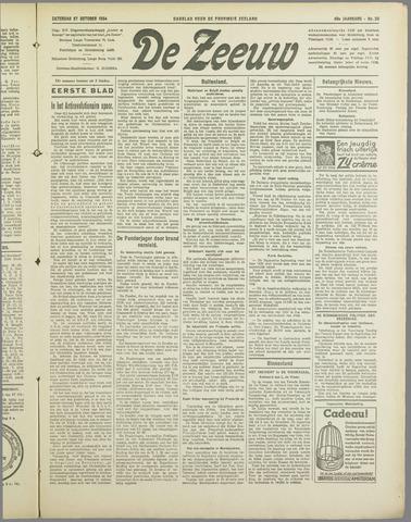 De Zeeuw. Christelijk-historisch nieuwsblad voor Zeeland 1934-10-27