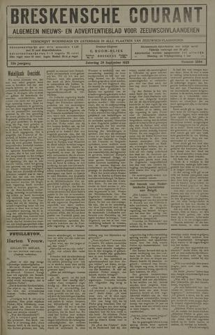 Breskensche Courant 1923-09-29