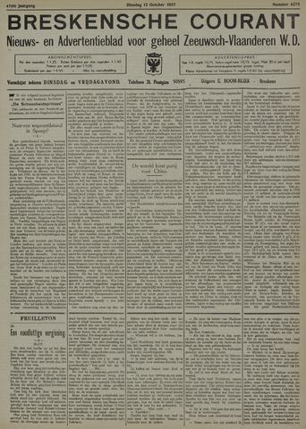 Breskensche Courant 1937-10-12