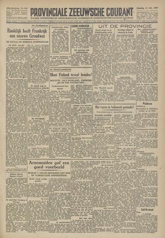 Provinciale Zeeuwse Courant 1946-10-15