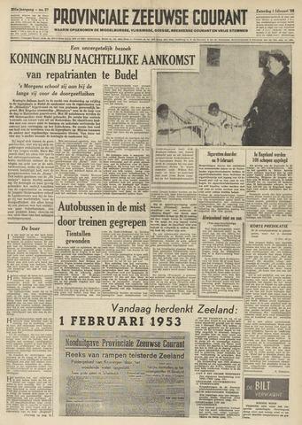 Provinciale Zeeuwse Courant 1958-02-01