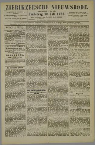 Zierikzeesche Nieuwsbode 1900-07-12