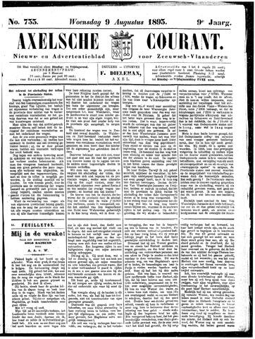 Axelsche Courant 1893-08-09