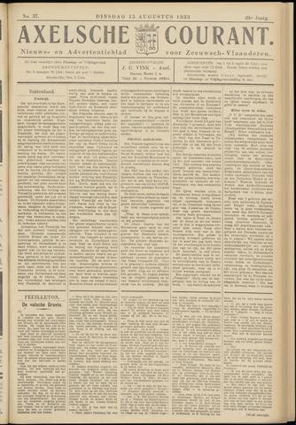 Axelsche Courant 1933-08-15