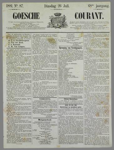Goessche Courant 1881-07-26