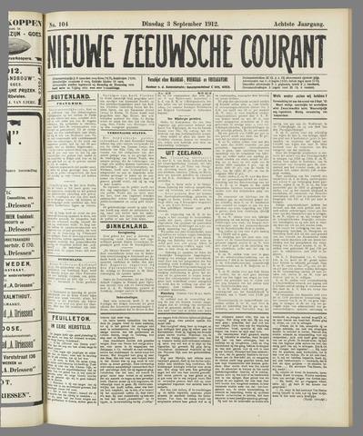 Nieuwe Zeeuwsche Courant 1912-09-03