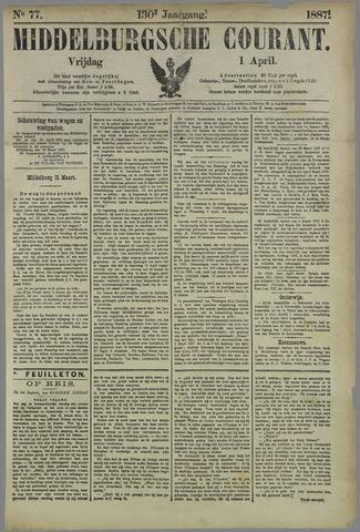 Middelburgsche Courant 1887-04-01
