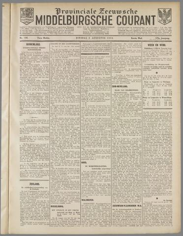 Middelburgsche Courant 1932-08-09