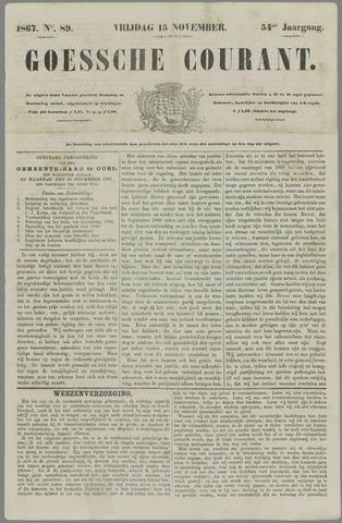 Goessche Courant 1867-11-15