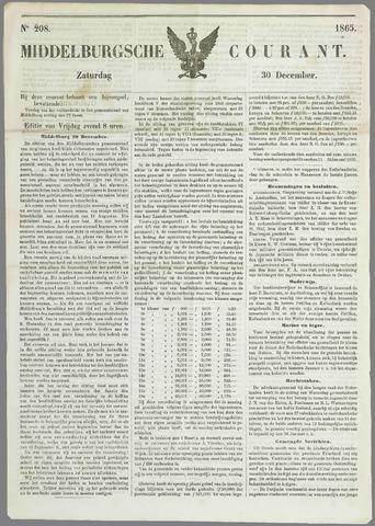 Middelburgsche Courant 1865-12-30