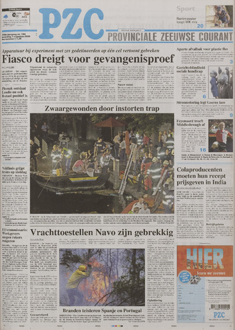 Provinciale Zeeuwse Courant 2006-08-07
