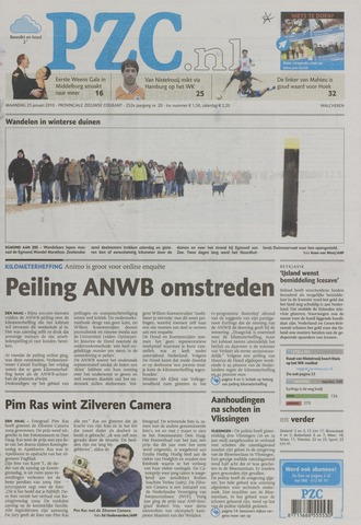 Provinciale Zeeuwse Courant 2010-01-25