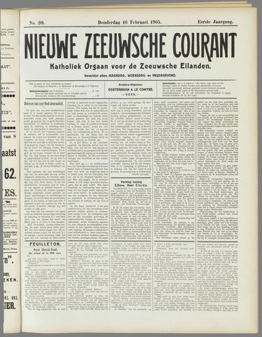 Nieuwe Zeeuwsche Courant 1905-02-16