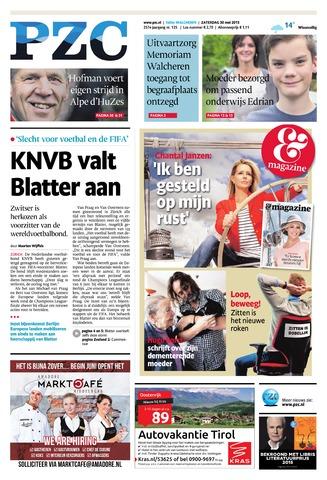 Provinciale Zeeuwse Courant 2015-05-30