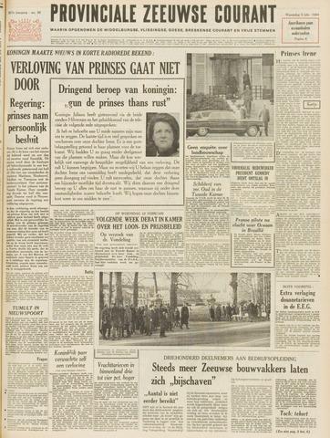 Provinciale Zeeuwse Courant 1964-02-05