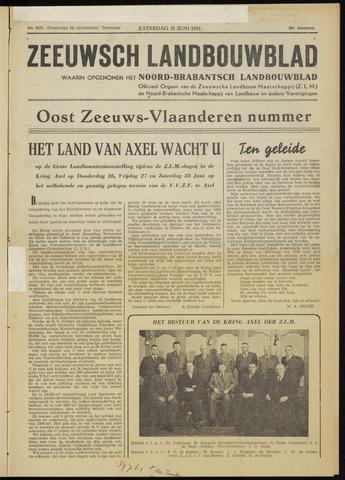 Zeeuwsch landbouwblad ... ZLM land- en tuinbouwblad 1952-06-21