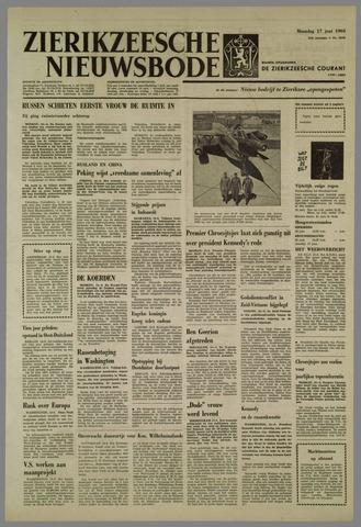 Zierikzeesche Nieuwsbode 1963-06-17