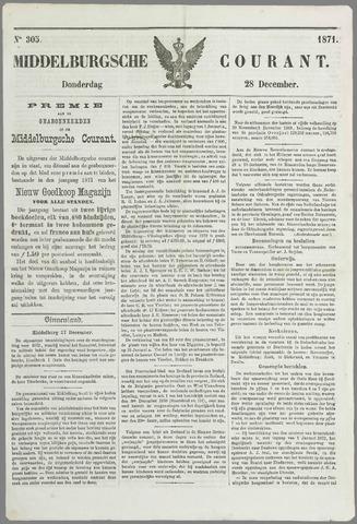 Middelburgsche Courant 1871-12-28