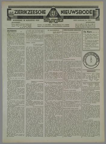 Zierikzeesche Nieuwsbode 1937-08-18