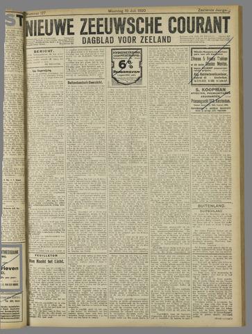 Nieuwe Zeeuwsche Courant 1920-07-19