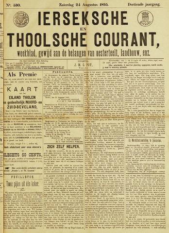 Ierseksche en Thoolsche Courant 1895-08-24