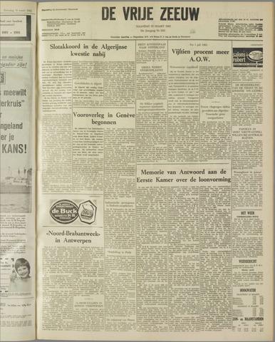 de Vrije Zeeuw 1962-03-12