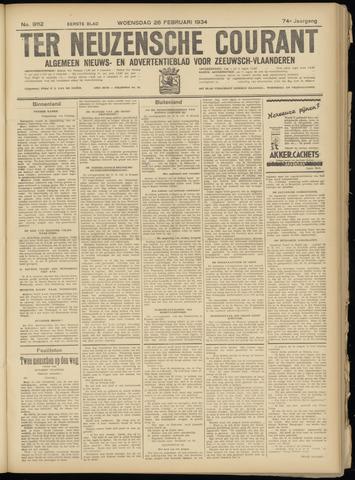 Ter Neuzensche Courant. Algemeen Nieuws- en Advertentieblad voor Zeeuwsch-Vlaanderen / Neuzensche Courant ... (idem) / (Algemeen) nieuws en advertentieblad voor Zeeuwsch-Vlaanderen 1934-02-28