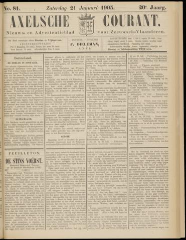 Axelsche Courant 1905-01-21