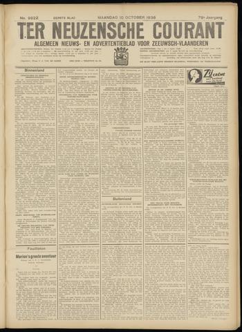 Ter Neuzensche Courant. Algemeen Nieuws- en Advertentieblad voor Zeeuwsch-Vlaanderen / Neuzensche Courant ... (idem) / (Algemeen) nieuws en advertentieblad voor Zeeuwsch-Vlaanderen 1938-10-10