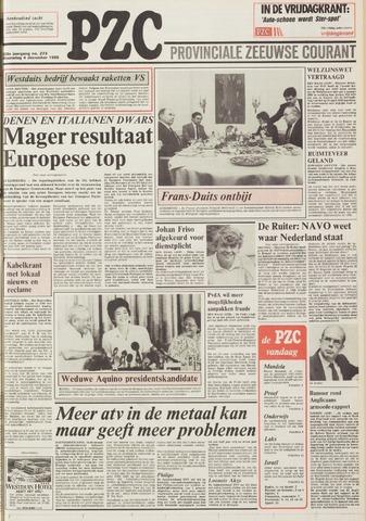 Provinciale Zeeuwse Courant 1985-12-04