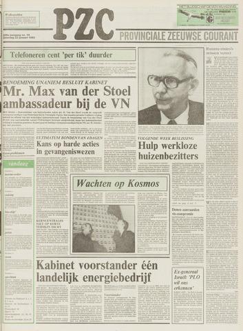 Provinciale Zeeuwse Courant 1983-01-22