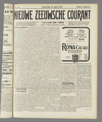 Nieuwe Zeeuwsche Courant 1912-04-25