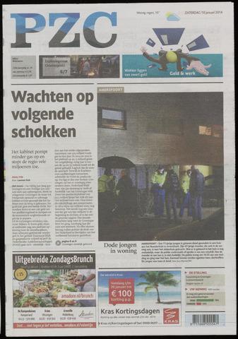 Provinciale Zeeuwse Courant 2014-01-18