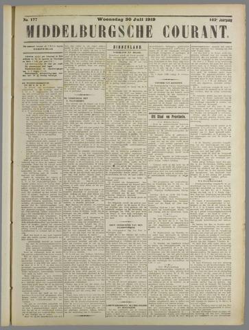 Middelburgsche Courant 1919-07-30